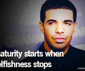 quote, text, and Drake image