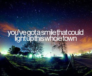 smile, quote, and light image