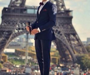 paris, man, and suit image