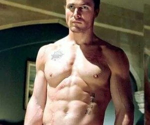 arrow, boys, and oliver queen image