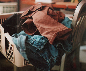 clothes, vintage, and laundry image