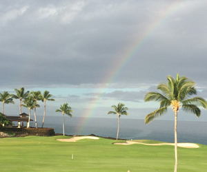 rainbow, beautiful, and hawaii image