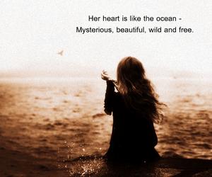alone, sea, and love image