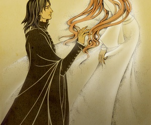 harry potter, lily evans, and severus snape image