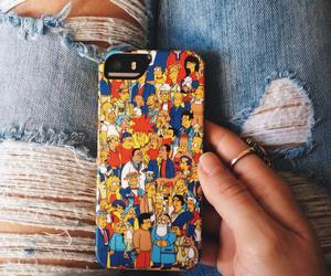 jean, simpsons, and iphonecases image