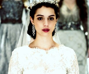 wedding, dress, and reign image