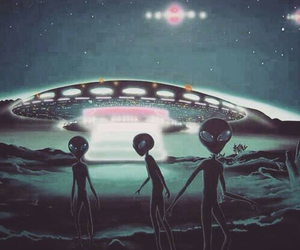 alien and space image