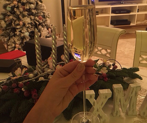 drink, new year, and crismas image