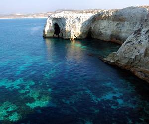 sea, blue, and Greece image