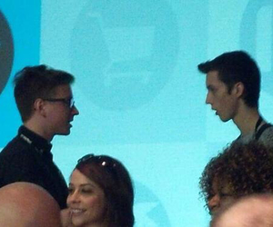 first time, troye sivan, and first meeting image