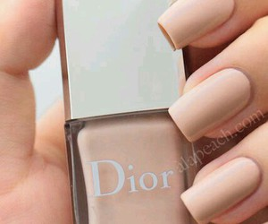 nails, dior, and Nude image