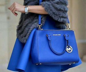 fashion, blue, and Michael Kors image