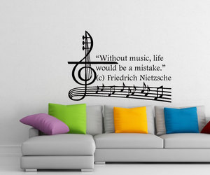 home decor, wall decal, and decalsm walldecor image
