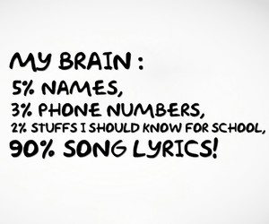 brain, names, and school image