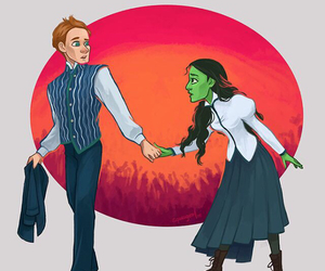 otp, wicked, and elphaba image