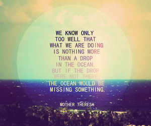 quote, ocean, and life image