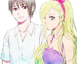 sai, ino, and anime image
