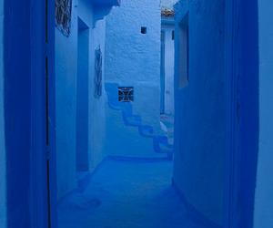 Bleu, blue, and morocco image
