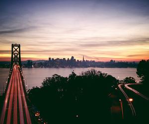 amazing, cars, and bridge image