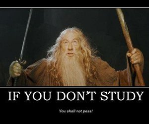 study and gandalf image