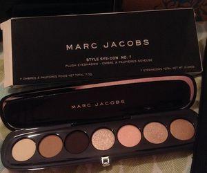 makeup, marc jacobs, and eyeshadow image