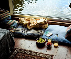 food, home, and relax image