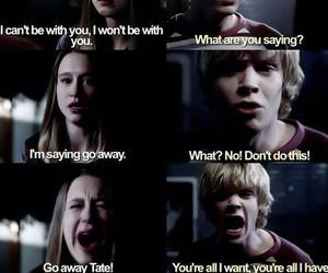 ahs, violet, and tate image