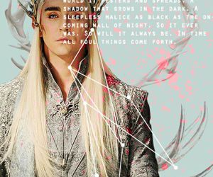 elf, lee pace, and the hobbit image