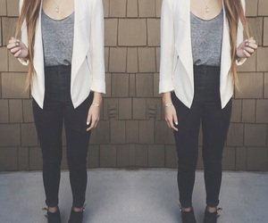 chic, clothes, and fashion image