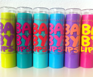 baby lips, girly, and Maybelline image