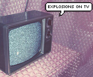 explosions, grunge, and indie image