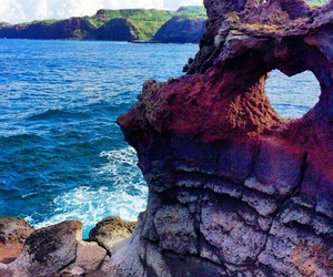 heart, hawaii, and nature image