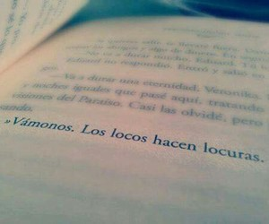 book, locos, and frases image