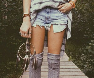 fashion, outfit, and dreamcatcher image
