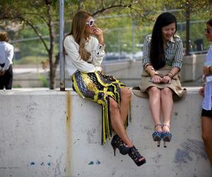 fashion, fashion week, and street style image
