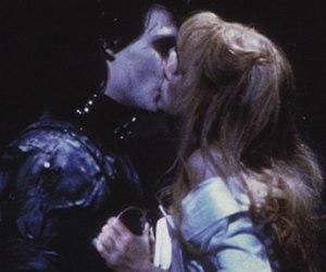 edward scissorhands, johnny depp, and kiss image