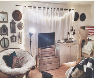 bedroom, chair, and cute image