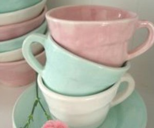 cups and pastel image