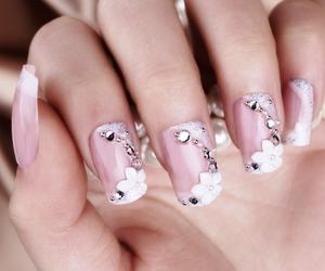 bride, fashion, and nail polish image