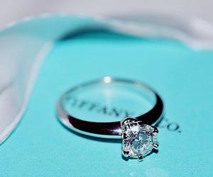 ring, tiffany, and diamond image