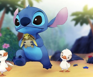 stitch and cute image