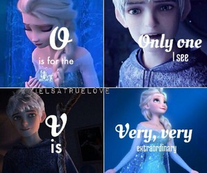 jelsa, love, and jack frost image