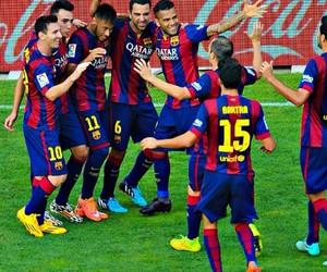 Barcelona and neymar image