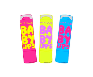 super, baby lips, and love it. image