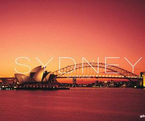 australia, Sydney, and bridge image