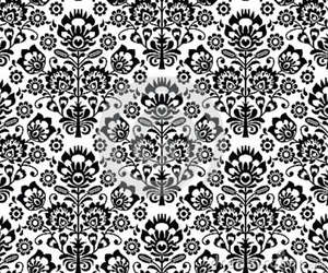 black and white and pattern image