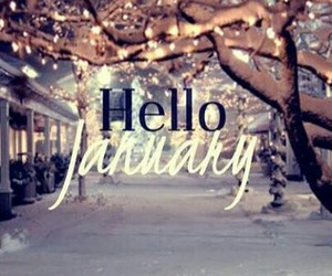 january, winter, and ♥ image