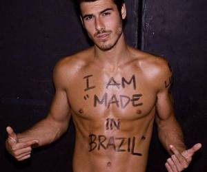 boy, brazil, and muscular image