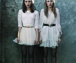 girl, dress, and grunge image