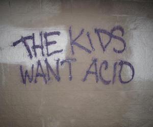 acid, kids, and grunge image